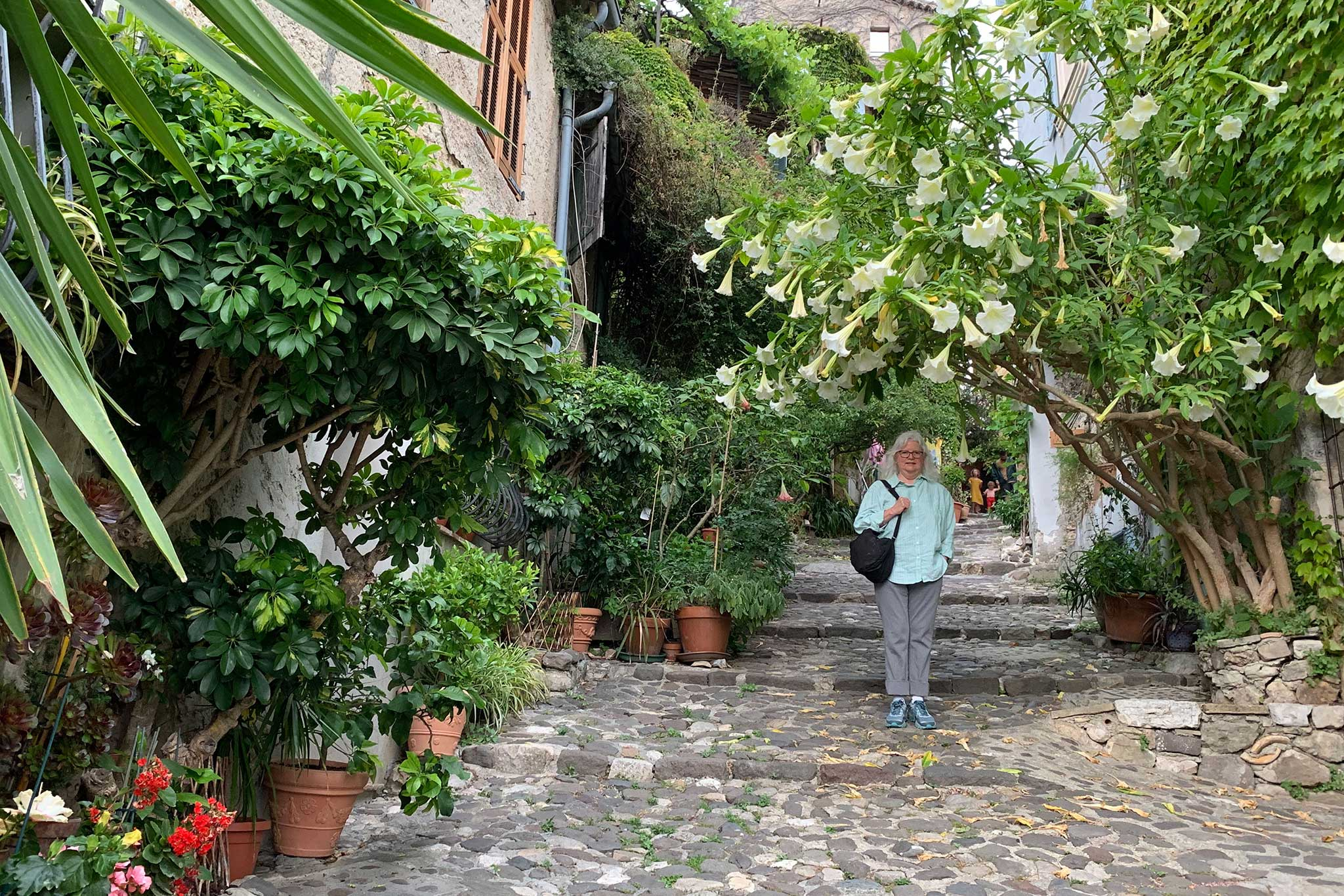 Steve And Carole In Vence - Biot