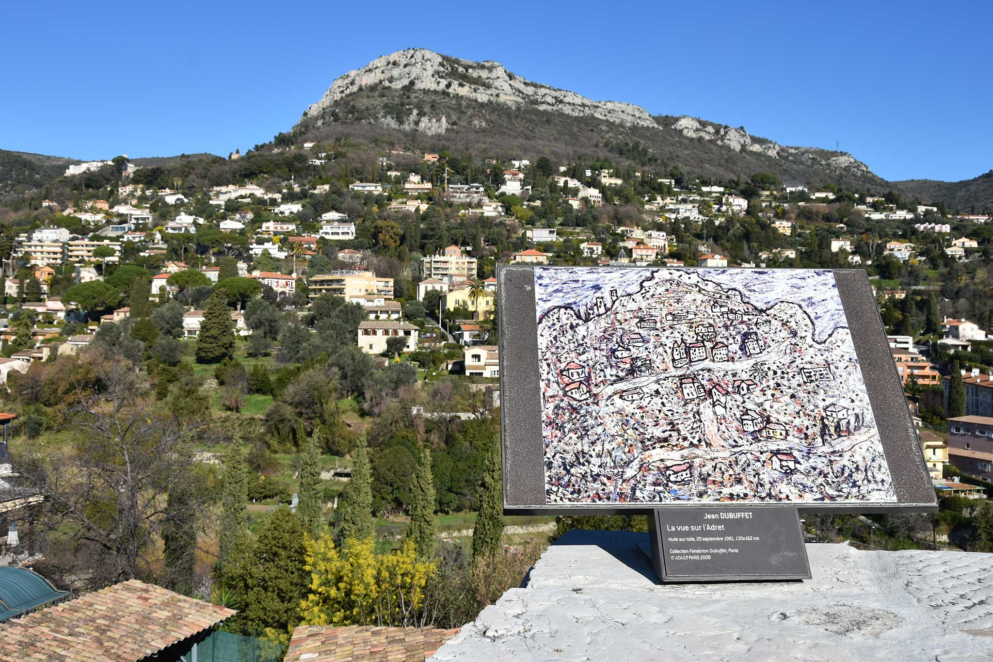 Steve and Carole In Vence - A Painter's Tour Of Vence