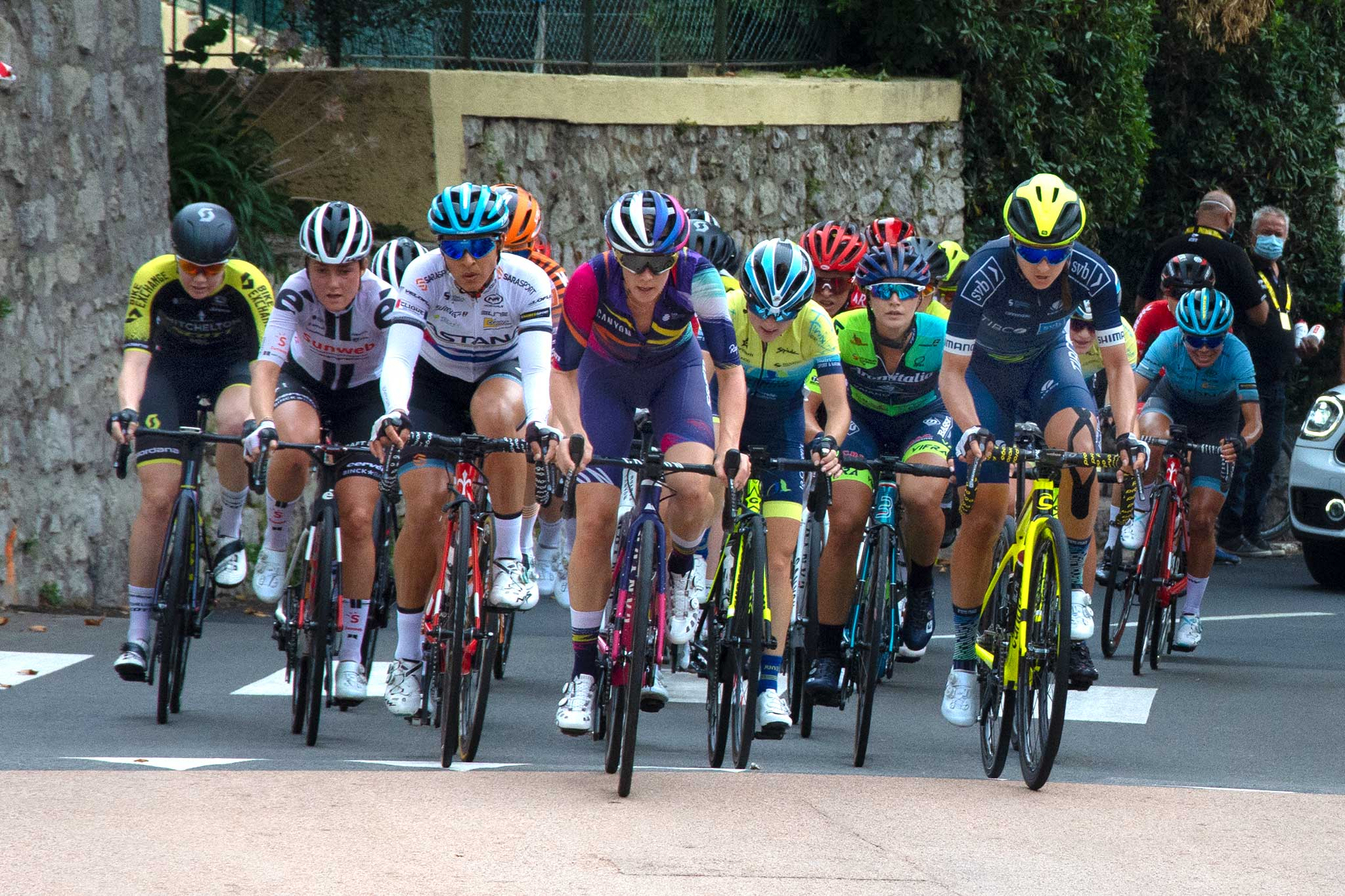 Steve and Carole in Vence - Women And The Tour de France